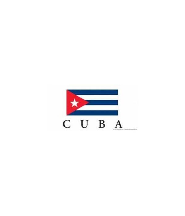 Cuba 4x8 Car Magnet