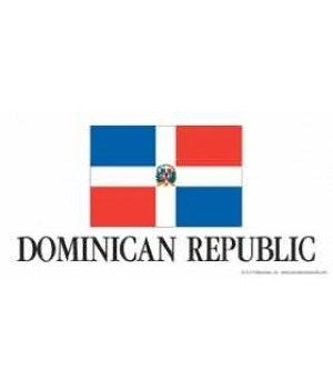 Dominican Republic 4x8 Car Magnet