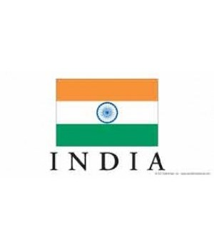 India 4x8 Car Magnet
