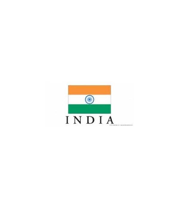 India 4x8 Car Magnet