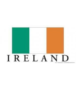 Ireland flag - has the Irish flag with I