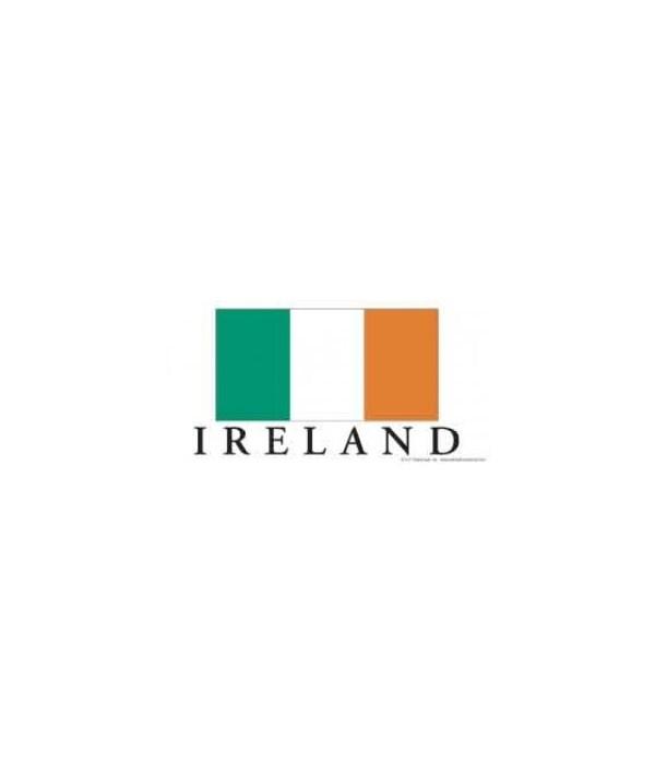 Ireland flag - has the Irish flag with I