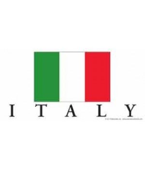 Italy 4x8 Car Magnet
