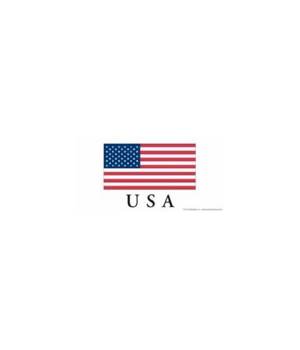 USA flag - has the US flag, with USA bel
