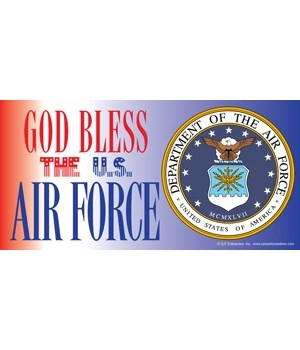 God Bless the U.S. Air Force (with pictu