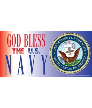 God Bless the U.S. Navy (with picture of