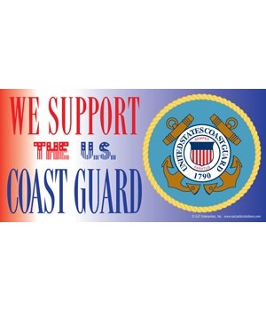 We support the U.S. Coast Guard (with pi
