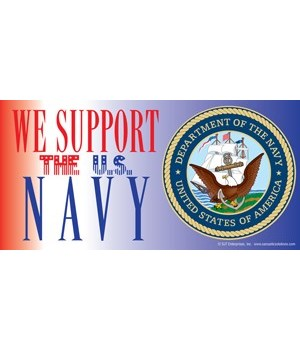 We support the U.S. Navy (with picture o