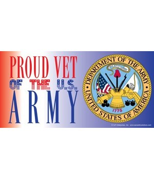 Proud Vet of the U.S. Army (with picture