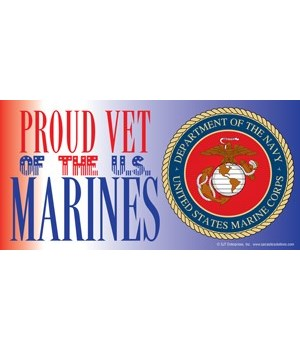 Proud Vet of the U.S. Marines (with pict