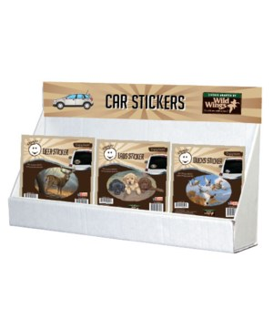 Wild Wings Outdoor Art Sticker Small Counter Display
