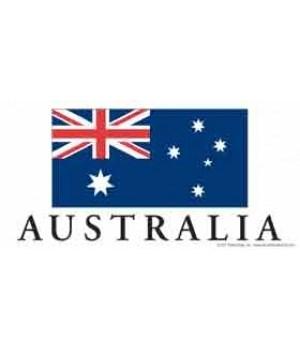 Australia 4x8 Car Magnet