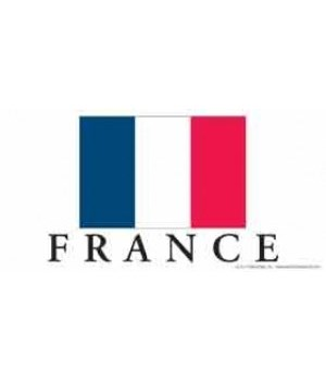 France 4x8 Car Magnet