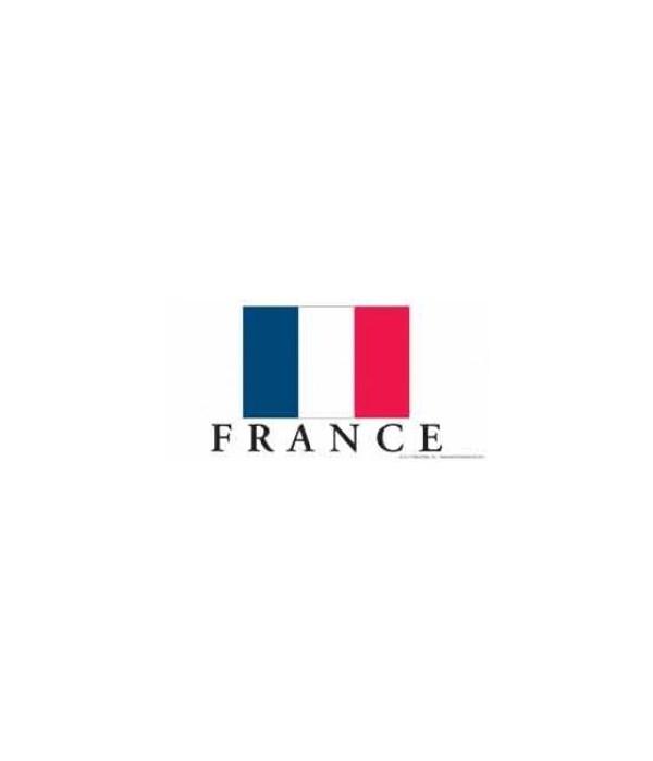 France 4x8 Car Magnet