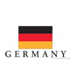 Germany 4x8 Car Magnet