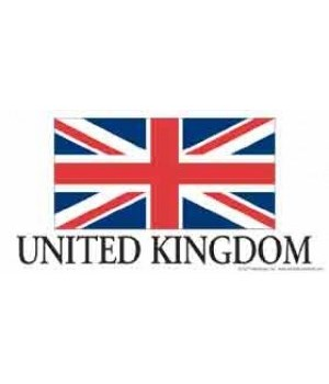 United Kingdom 4x8 Car Magnet