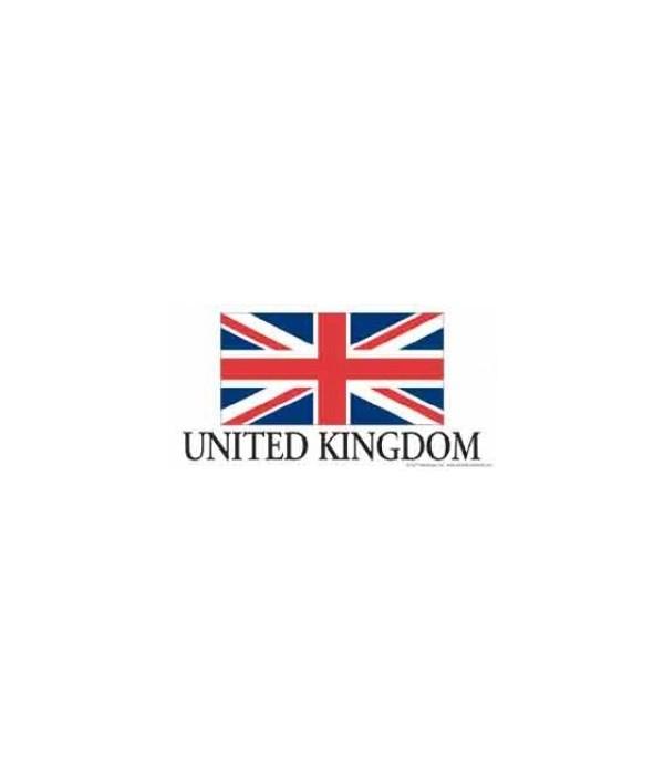 United Kingdom 4x8 Car Magnet