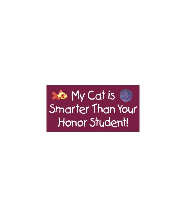 My cat is smarter than yourHonor studen