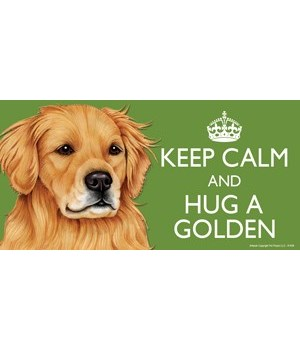 Keep Calm and Hug a Golden (Retriever) 4