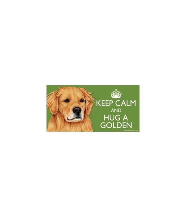 Keep Calm and Hug a Golden (Retriever) 4
