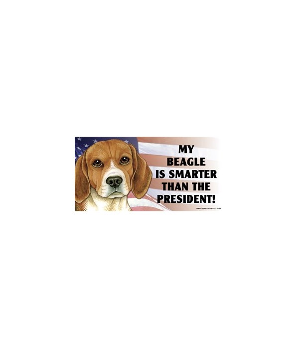 My Beagle is smarter than the President