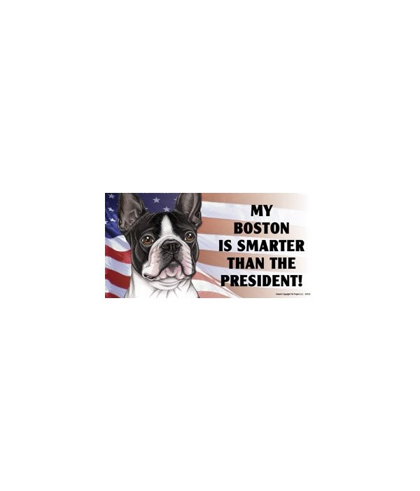 My Boston is smarter than the President