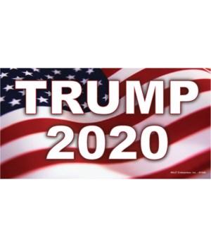 Trump 2020 (Flag) Magnet