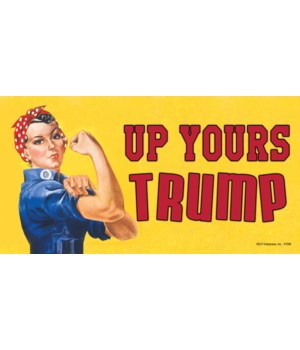 Up Yours Trump Magnet
