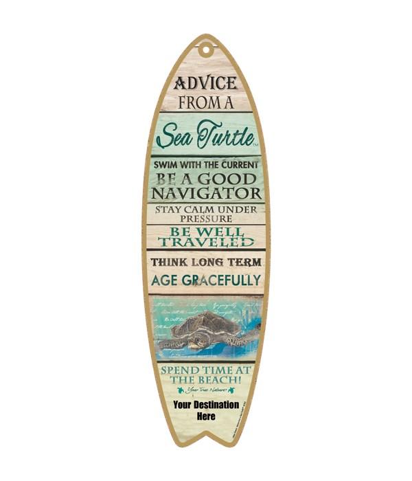 Advice from an a Sea Turtle - Coastal