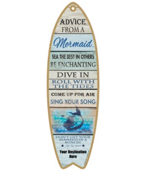 Advice from an a Mermaid - Coastal