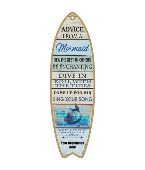 Advice from an a Mermaid - Coastal