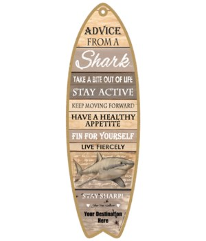 Advice from an a Shark - Coastal
