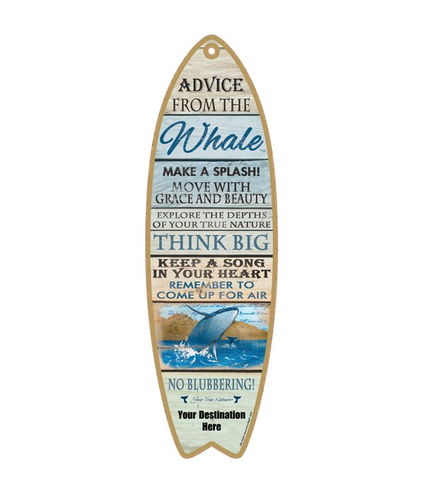 Advice from an a Whale - Coastal