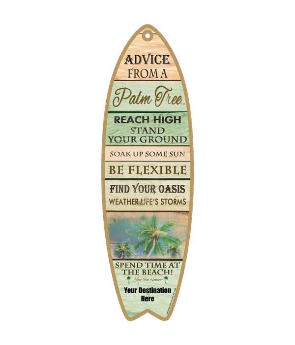 Advice from an a Palm Tree - Coastal