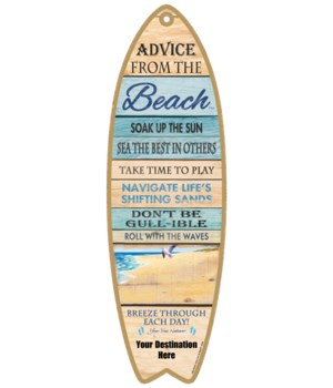 Advice from the Beach - Plank