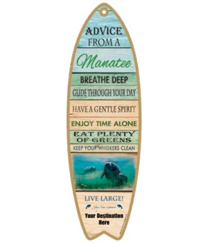 Advice from a Manatee - Plank