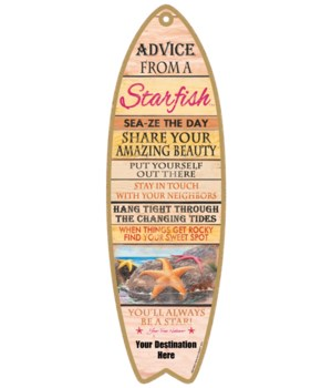 Advice from a Starfish - Plank