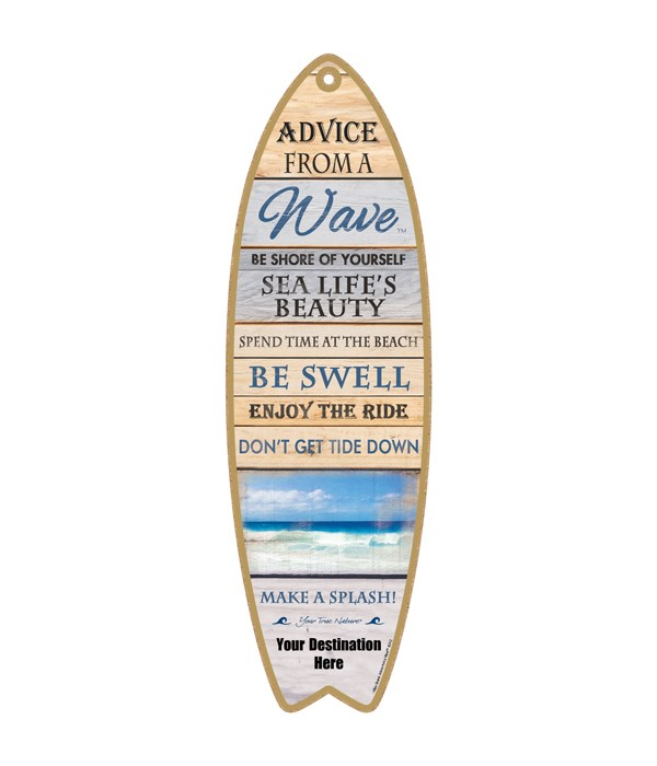 Advice from a Wave - Plank