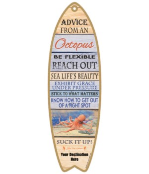 Advice from an Octopus - Plank Style