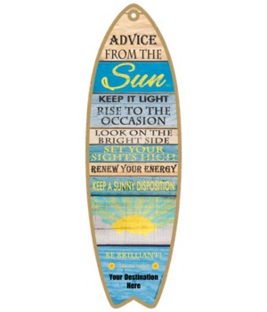 Advice from the Sun - Plank Style