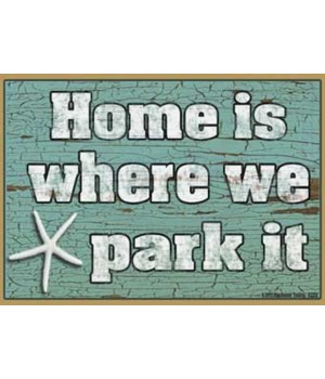 Home is where we park it - starfish Magn