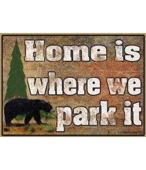 Home is where we park it - black bear Ma