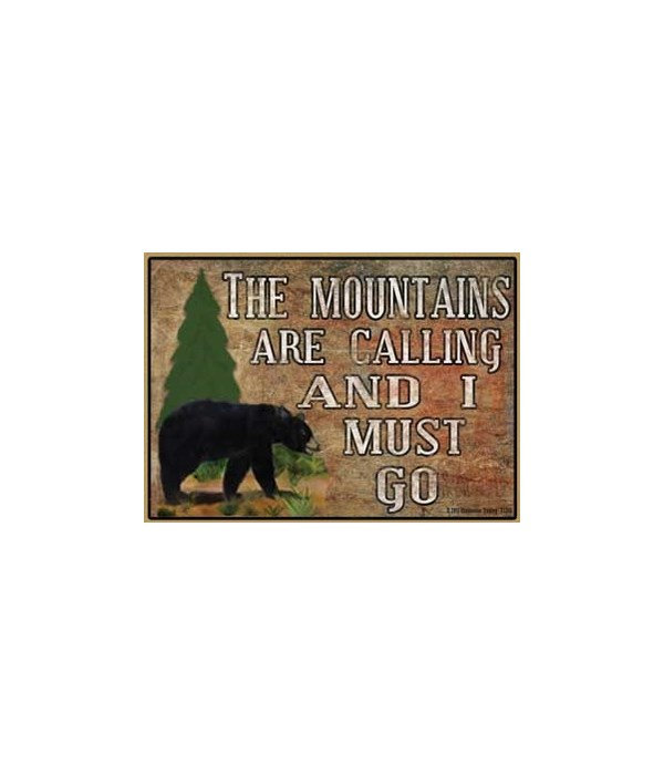 The mountains are calling - black bear M
