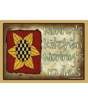 nonny's kitchen nonny's rules Magnet