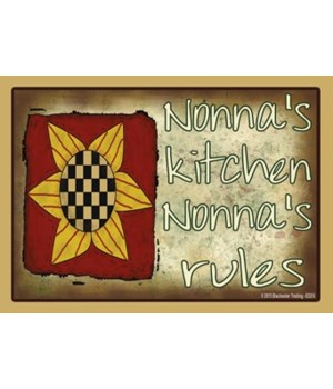 nonna's kitchen nonna's rules Magnet