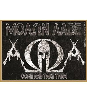 Molon Labe Come And Take Them  Magnet