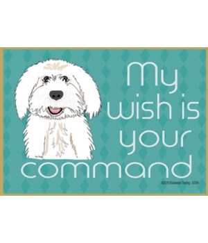 my wish is your command - labradoodle Ma