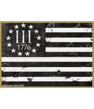 III% 1776 Flag Magnet