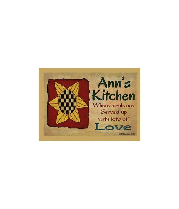 Sunflower kitchen - Ann Magnet
