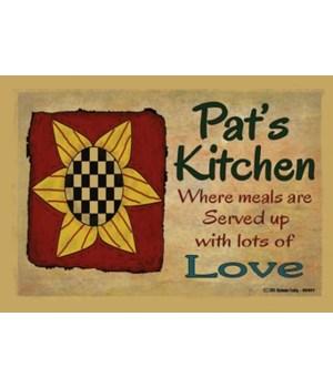 Sunflower kitchen - Pat Magnet